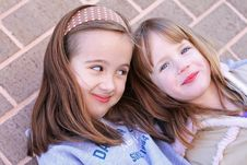 Free Two Sisters Stock Images - 4919704