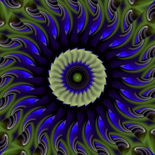 Free Spring Fling Kaleidoscope Royalty Free Stock Images - 4919979