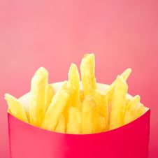 French Fries Or Chips Stock Images