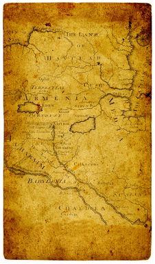 Free Old Paper Map. Royalty Free Stock Photography - 49178727