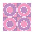 Free Seamless Tile With Purple/ Pink Circles Stock Photo - 4920600