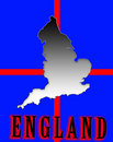 Free England Map Royalty Free Stock Images - 4920849