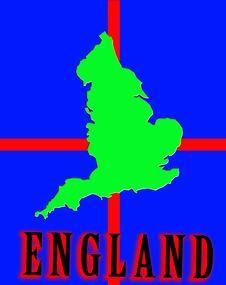 Free England Map Stock Photo - 4920850