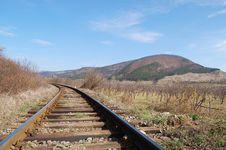 Free Between The Rails Royalty Free Stock Images - 4920899