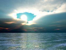 Free Sunset Or Sunrise Stock Photo - 4921100