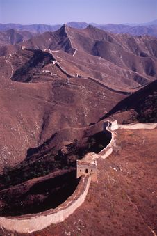 Free The Great Wall Royalty Free Stock Photos - 4921138
