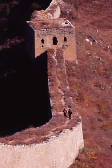 Free The Great Wall Stock Photography - 4921162
