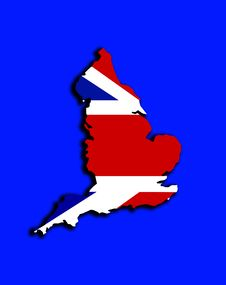 Free England With Union Jack Stock Photo - 4921230