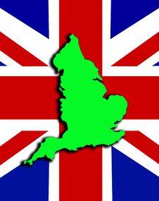 Free England With Union Jack 11 Royalty Free Stock Photos - 4921238
