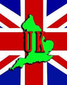 Free England With Union Jack 14 Stock Photography - 4921272