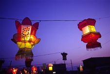 Free Lanterns Royalty Free Stock Photography - 4921427