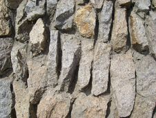 Free Wall From The Stones Stock Image - 4921791
