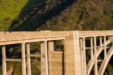 Free Bridge Runner Stock Images - 4922084