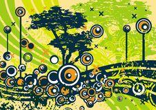 Free Grunge Tree Design Stock Photos - 4922133