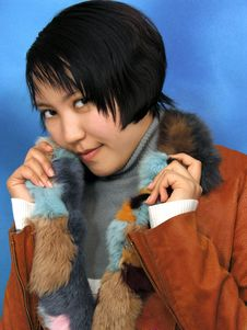 Free The Girl In Furs Royalty Free Stock Photos - 4922208