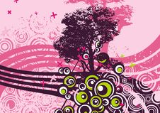 Free Grunge Tree Design Royalty Free Stock Photo - 4922515