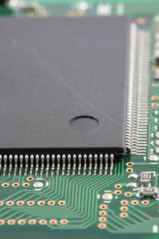 Free Microprocessor Detail Royalty Free Stock Photography - 4922567