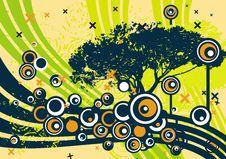Free Grunge Tree Design Royalty Free Stock Photos - 4922588