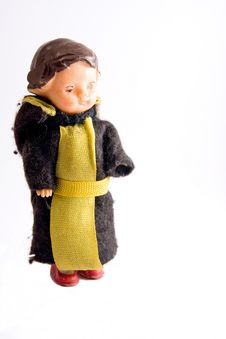 Priest Toy Stock Images