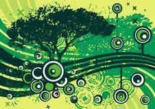 Free Grunge Tree Design Royalty Free Stock Photos - 4922668