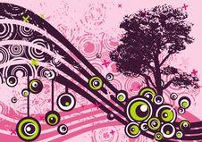 Free Grunge Tree Design Stock Images - 4922674