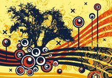Free Grunge Tree Design Stock Images - 4922694