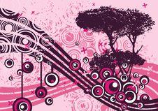 Free Grunge Tree Design Stock Images - 4922714