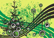 Free Grunge Tree Design Stock Image - 4922821