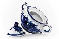 Free Antique Porcelain, China Sugar Vase. Stock Images - 4923364