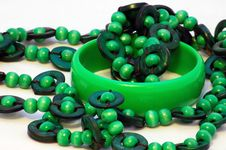 Free Bracelet And Beads Royalty Free Stock Photography - 4923527