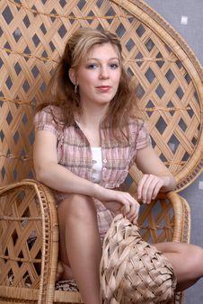 Attractive Blonde Teenage Girl Stock Photos