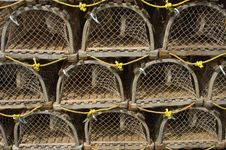 Free Lobster Pots Royalty Free Stock Images - 4924339