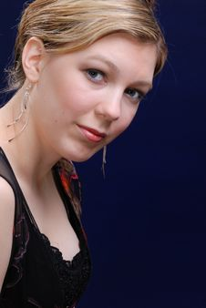 Free Attractive Blonde Young Woman Royalty Free Stock Photo - 4924345