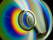 Free Aligned CD's Stock Photography - 4924792