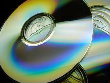 Free Pile Of CD's Royalty Free Stock Image - 4924806