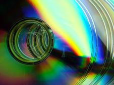 Free Shining CD's Stock Photo - 4924890