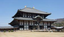 Free Nara Daibutsu Todai  Ji Royalty Free Stock Photos - 4924948