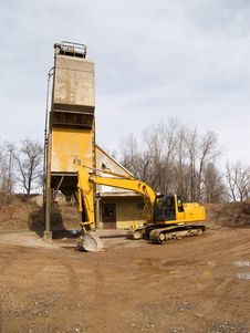 Free Excavator Stock Images - 4925344