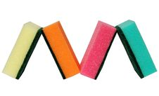 Free Houses From Multicolor Sponges Stock Photography - 4925482