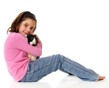 Free Guinea Pig Lover Royalty Free Stock Photos - 4926788