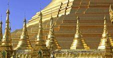 Free Myanmar, Yangon: Shwedagon Pagoda Stock Photography - 4927272
