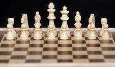 Free White Chess Pieces Stock Photos - 4927943