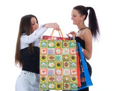 Free Business Lady Shopping Stock Images - 4928334