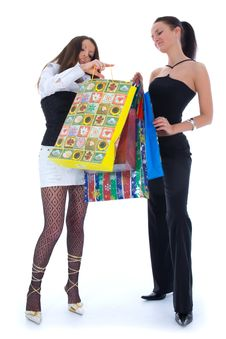 Free Business Lady Shopping Royalty Free Stock Photos - 4928348