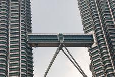 Free Petronas Towers, Kuala Lumpur Royalty Free Stock Photos - 4928708