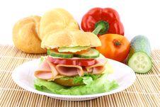 Free Sandwich Royalty Free Stock Image - 4928716