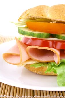 Free Sandwich Royalty Free Stock Photography - 4928817