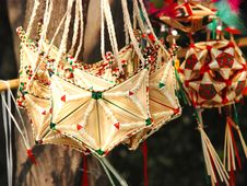 Free Straw Handiwork Royalty Free Stock Photography - 4929177