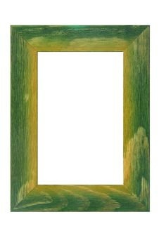 Free Colored Wooden Frame Royalty Free Stock Photography - 4929287