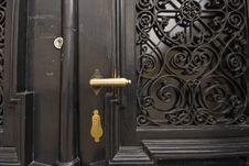Free Golden Door Knob Stock Photos - 4929483